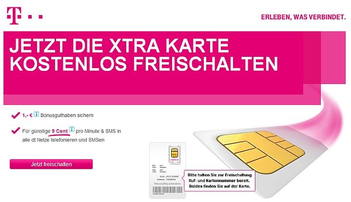 Xtra Card Aktivieren