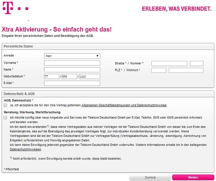 Telekom Karte Aktivieren.Die Kostenlose Xtra Card Der Telekom Aktivieren Kostenlose